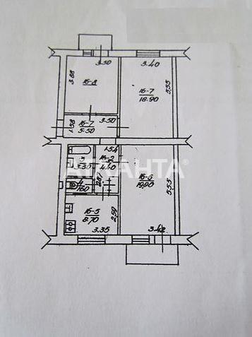Продается 3-комнатная Квартира на ул. Просп.Науки — 65 000 у.е. (фото №14)