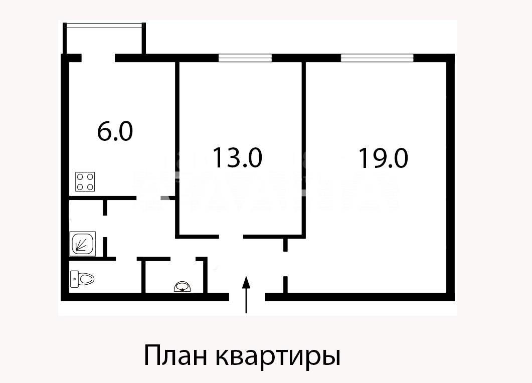 Продается 2-комнатная Квартира на ул. Ул. Менделеева — 50 000 у.е. (фото №11)