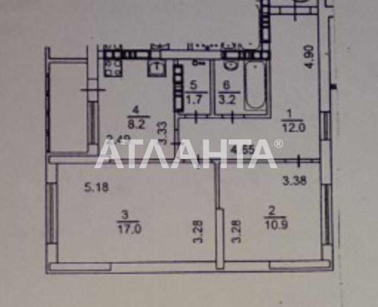 Продается 2-комнатная Квартира на ул. Просп. Маяковского — 50 000 у.е. (фото №16)