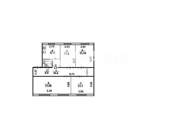 Продается 4-комнатная Квартира на ул. Пражская — 60 000 у.е. (фото №8)