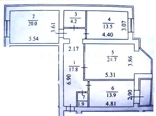 Продается 3-комнатная Квартира на ул. Ломоносова — 125 000 у.е. (фото №11)