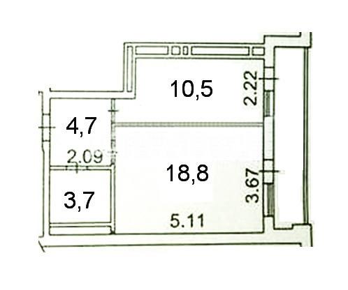 Продается 1-комнатная Квартира на ул. Пер. Московский — 57 000 у.е. (фото №13)