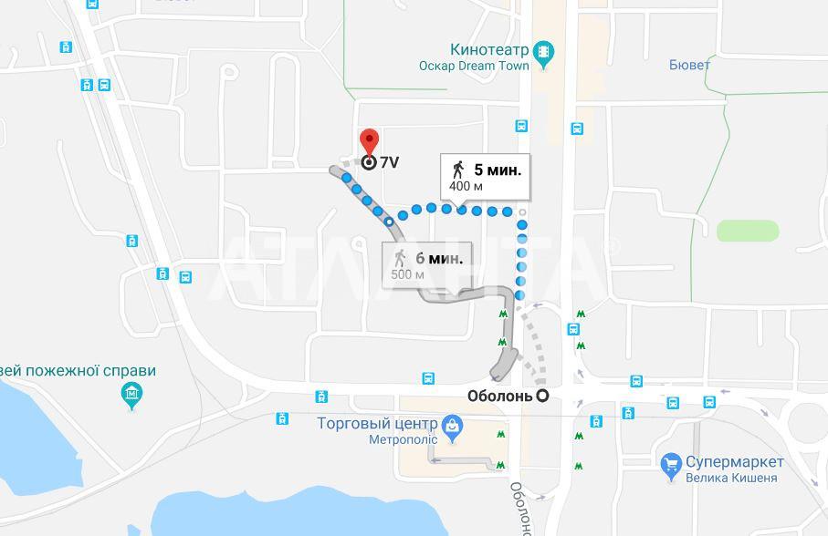 Продается 1-комнатная Квартира на ул. Просп. Оболонский — 46 000 у.е. (фото №17)