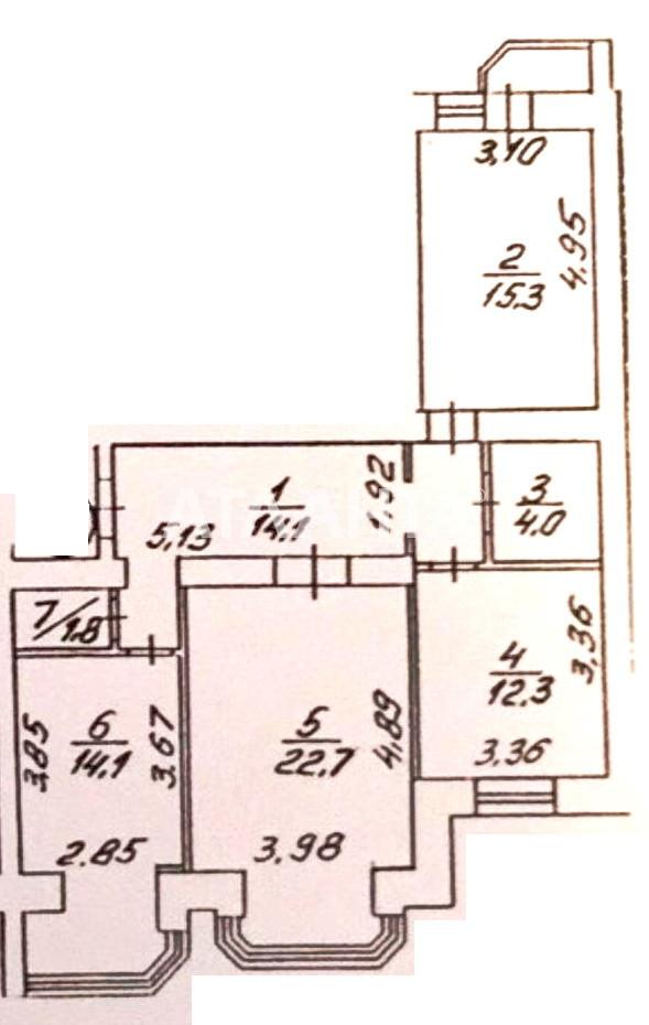 Продается 3-комнатная Квартира на ул. Академика Вильямса — 99 000 у.е. (фото №12)
