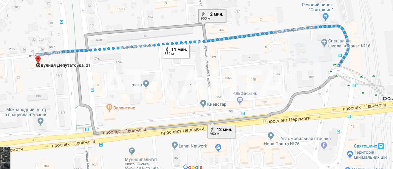 Продается 2-комнатная Квартира на ул. Депутатская  — 47 000 у.е. (фото №14)