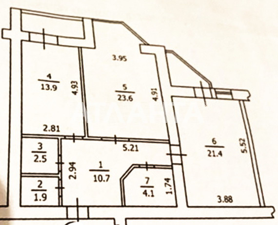 Продается 2-комнатная Квартира на ул. Ул. Ломоносова  — 87 000 у.е. (фото №15)