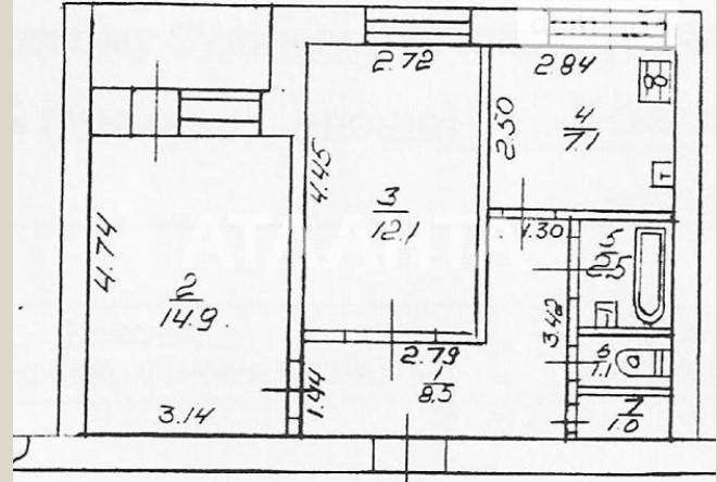 Продается 2-комнатная Квартира на ул. Ул. Краснова — 40 000 у.е. (фото №10)