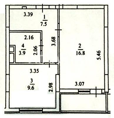 Продается 1-комнатная Квартира на ул. Ломоносова — 66 900 у.е. (фото №14)