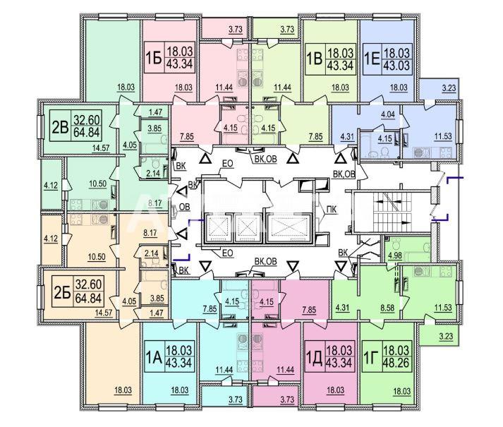 Продается 1-комнатная Квартира на ул. Ул. Ломоносова  — 45 500 у.е. (фото №3)