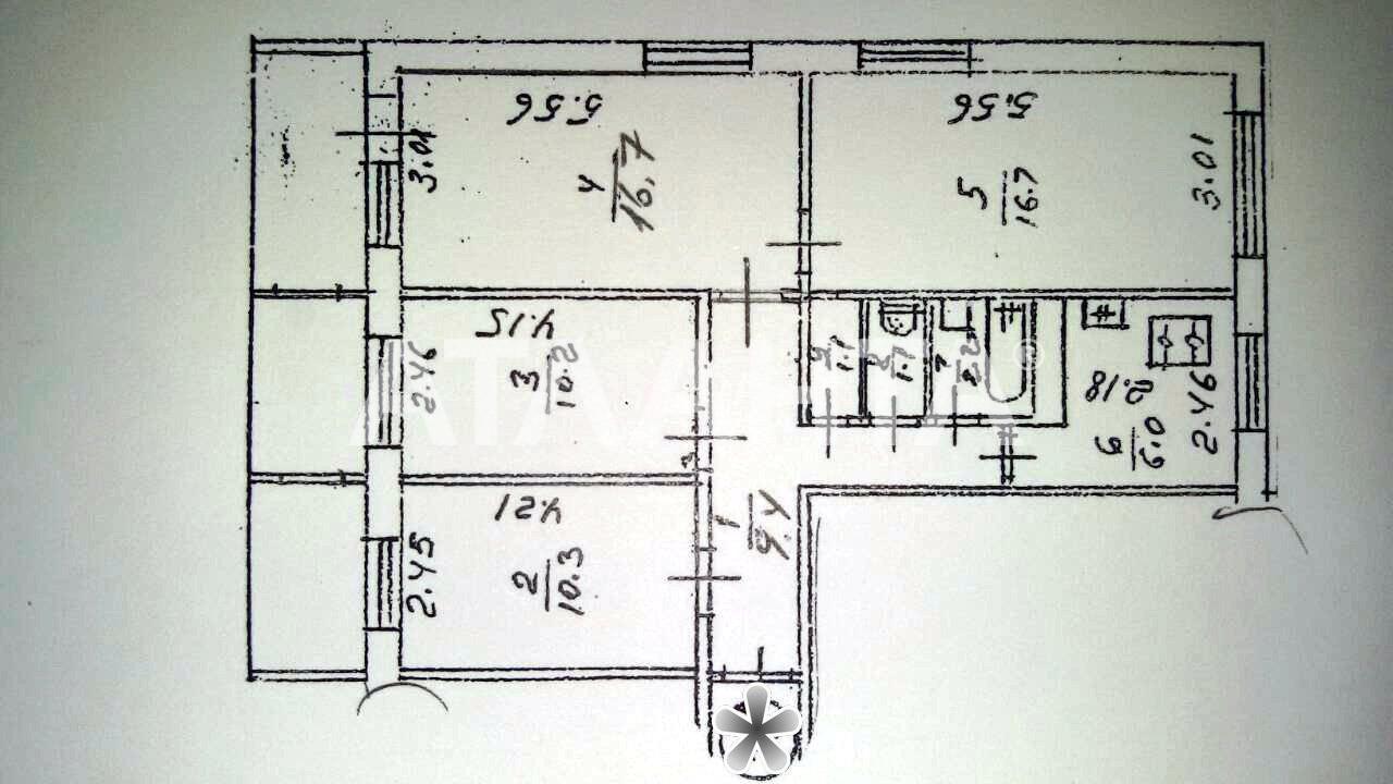 Продается 4-комнатная Квартира на ул. Днепровская Наб. — 65 000 у.е. (фото №8)