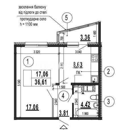 Продается 1-комнатная Квартира на ул. Гмыри — 28 900 у.е. (фото №3)