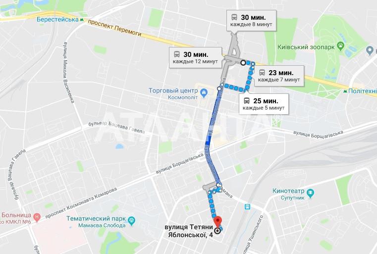 Продается 3-комнатная Квартира на ул. Татьяны Яблонской — 63 000 у.е. (фото №3)