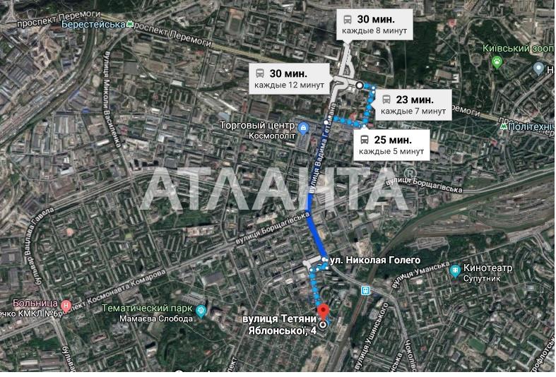 Продается 3-комнатная Квартира на ул. Татьяны Яблонской — 63 000 у.е. (фото №4)
