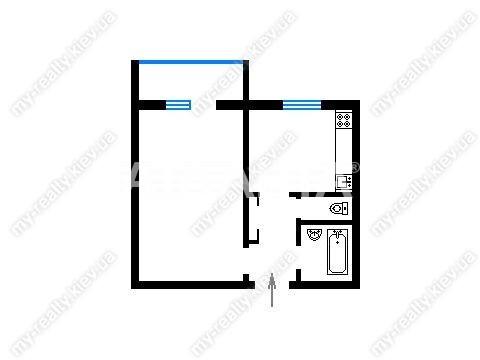 Продается 1-комнатная Квартира на ул. Академика Заболотного — 35 000 у.е. (фото №13)