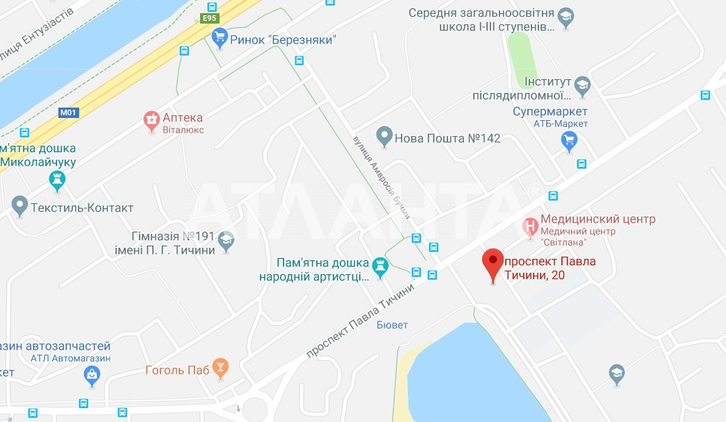 Продается 1-комнатная Квартира на ул. Просп. Павла Тычины — 45 000 у.е. (фото №11)