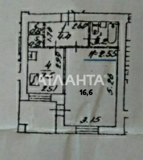 Продается 1-комнатная Квартира на ул. Ереванская — 40 000 у.е. (фото №3)