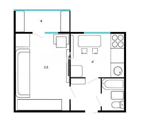 Продается 1-комнатная Квартира на ул. Оболонский Проспект — 35 000 у.е. (фото №14)