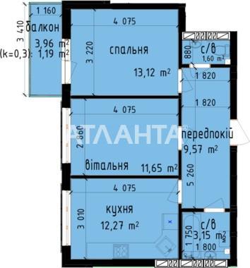 Продается 2-комнатная Квартира на ул. Метрологическая — 42 000 у.е. (фото №3)