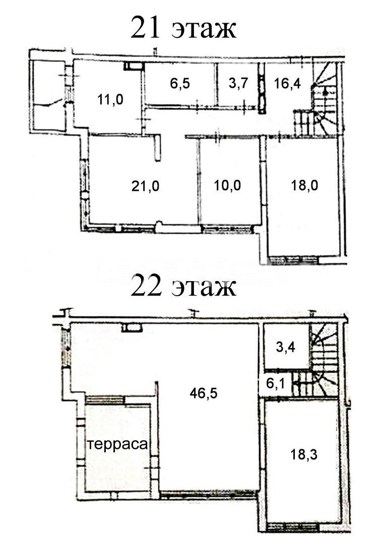 Продается Многоуровневая Квартира на ул. Конева — 204 500 у.е. (фото №3)