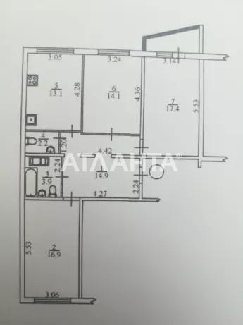 Продается 3-комнатная Квартира на ул. Ул. Петра Калнышевского — 73 000 у.е. (фото №6)
