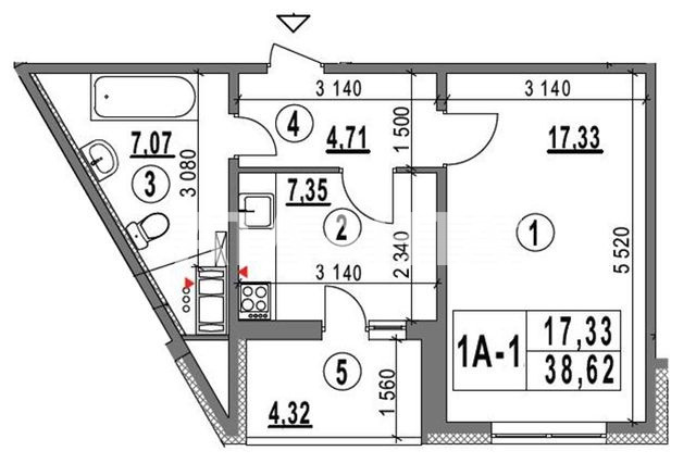 Продается 1-комнатная Квартира на ул. Ул. Ломоносова  — 56 000 у.е. (фото №10)