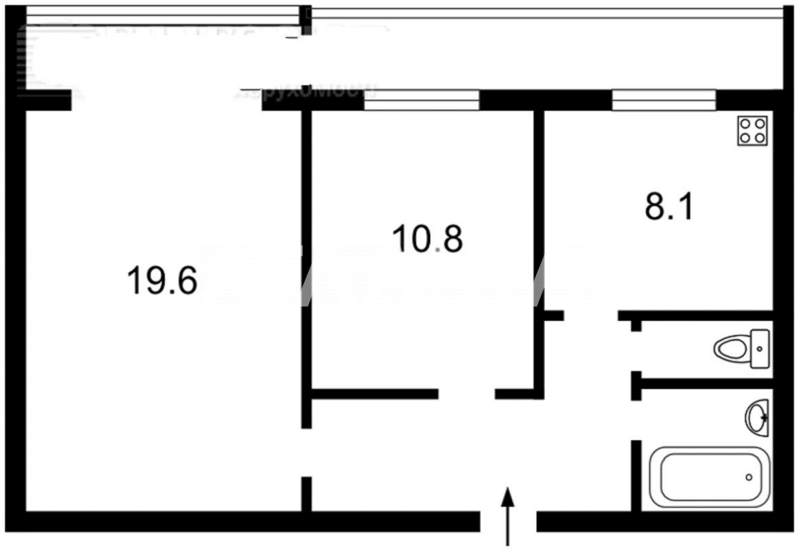 Продается 2-комнатная Квартира на ул. Татарская — 49 500 у.е. (фото №8)