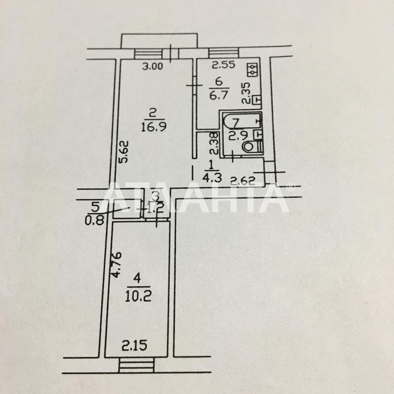 Продается 2-комнатная Квартира на ул. Ул. Чигорина — 50 000 у.е. (фото №8)