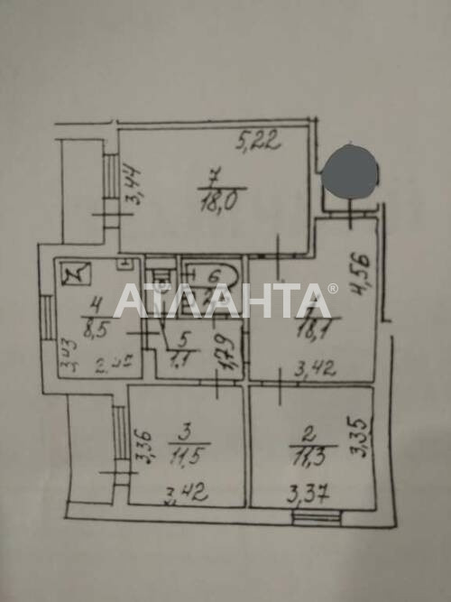 Продается 3-комнатная Квартира на ул. Миколи Бажана Проспект — 57 000 у.е. (фото №9)