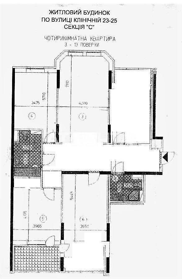 Продается 4-комнатная Квартира на ул. Ул. Клиническая — 165 000 у.е. (фото №10)
