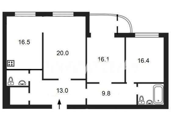 Продается 3-комнатная Квартира на ул. Лабораторный Пер. — 259 000 у.е. (фото №2)