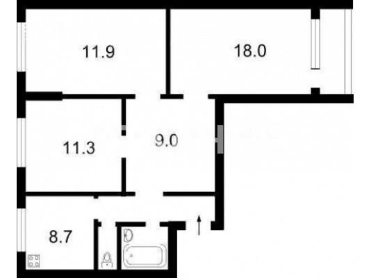 Продается 3-комнатная Квартира на ул. Ул. Новомостицкая — 50 000 у.е. (фото №9)