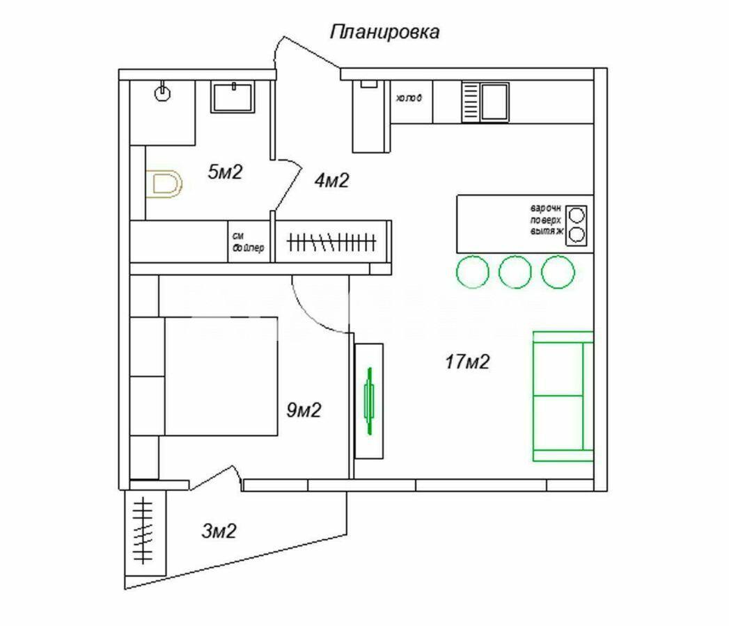 Продается 2-комнатная Квартира на ул. Ул. Стеценко — 49 900 у.е. (фото №10)
