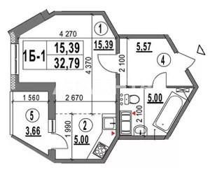 Продается 1-комнатная Квартира на ул. Ул. Академика Глушкова  — 32 400 у.е. (фото №7)