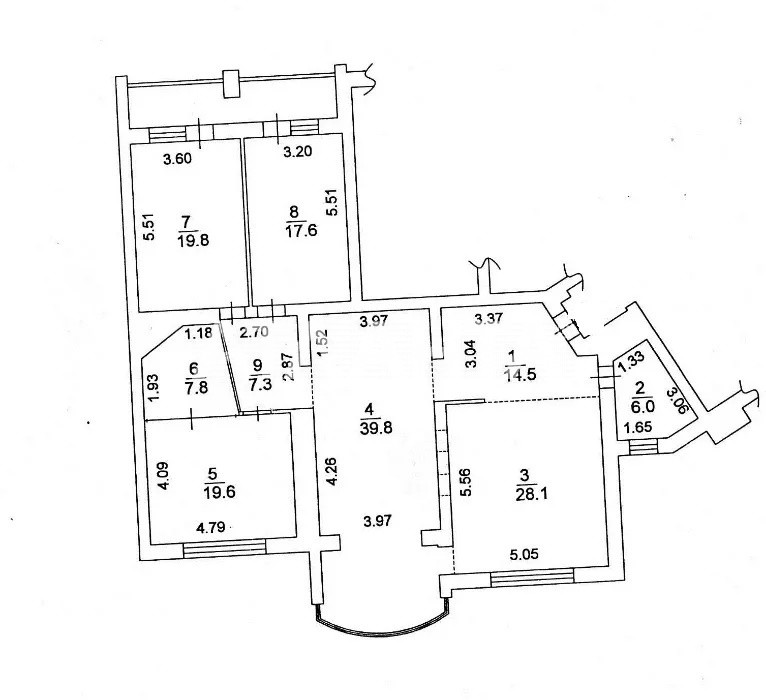 Продается 4-комнатная Квартира на ул. Ул. Оболонская — 420 000 у.е. (фото №10)