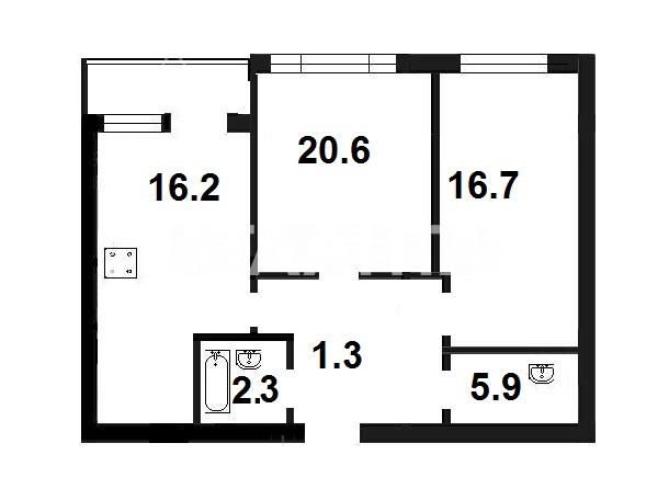 Продается 2-комнатная Квартира на ул. Василия Касияна — 86 000 у.е. (фото №2)