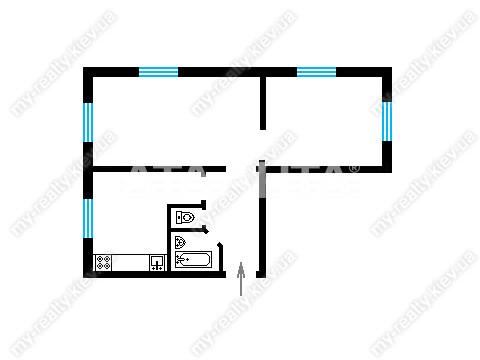 Продается 2-комнатная Квартира на ул. Ул. Щербаковского — 37 600 у.е. (фото №10)