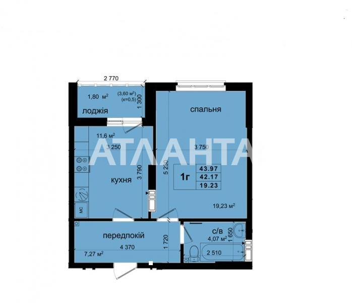 Продается 1-комнатная Квартира на ул. Ул. Метрологическая — 57 000 у.е. (фото №14)