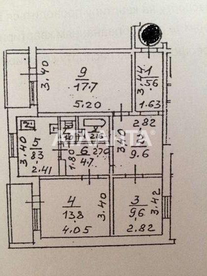 Продается 3-комнатная Квартира на ул. Ул. Оноре Де Бальзака — 50 000 у.е. (фото №4)