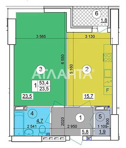 Продается 2-комнатная Квартира на ул. Теремковская — 85 000 у.е. (фото №16)