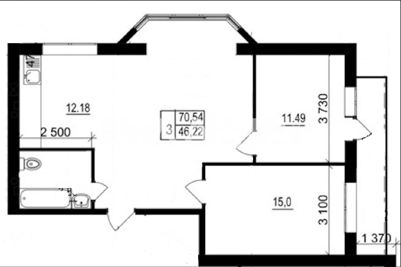 Продается 3-комнатная Квартира на ул. Валовня — 49 000 у.е. (фото №8)