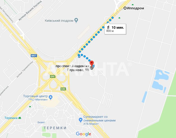 Продается 3-комнатная Квартира на ул. Просп. Глушкова — 139 000 у.е. (фото №15)
