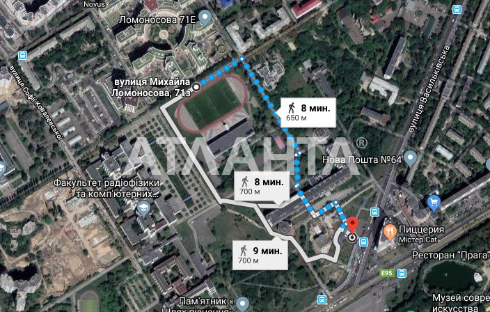 Продается 2-комнатная Квартира на ул. Ул. Ломоносова  — 140 000 у.е. (фото №11)