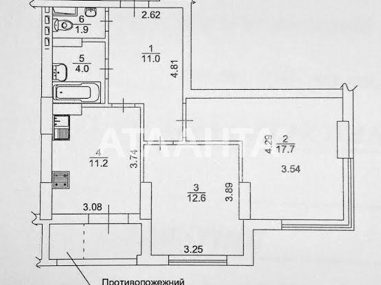 Продается 2-комнатная Квартира на ул. Ул. Китаевская — 98 500 у.е. (фото №15)