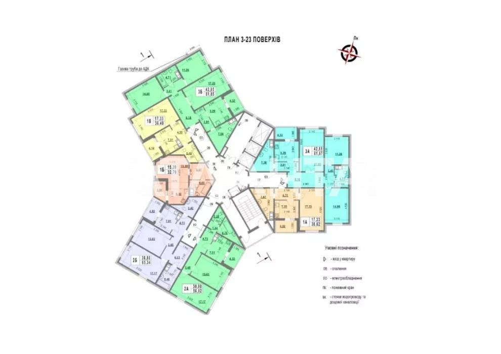 Продается 3-комнатная Квартира на ул. Ул. Ломоносова  — 60 000 у.е. (фото №3)