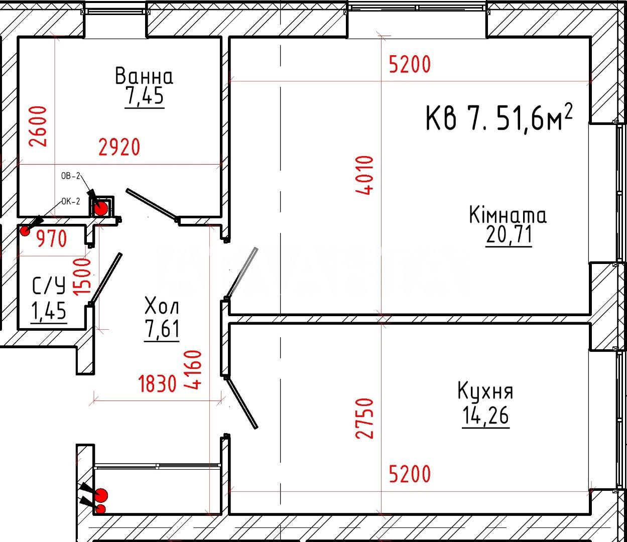Продается 1-комнатная Квартира на ул. Творческая — 44 500 у.е. (фото №3)