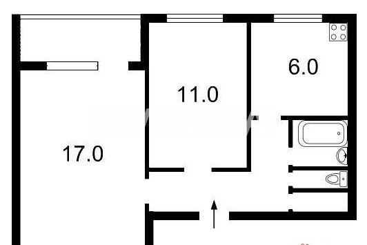 Продается 2-комнатная Квартира на ул. Ул. Лятошинского — 40 500 у.е. (фото №11)