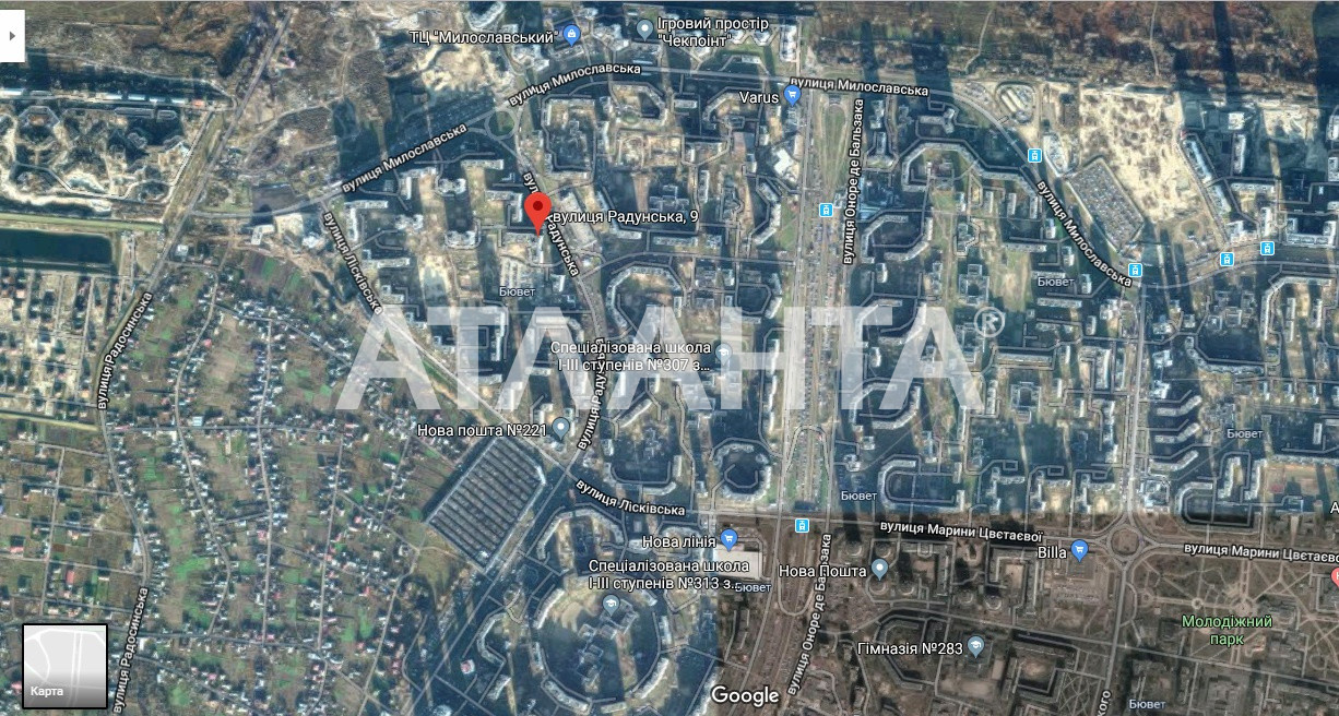 Продается 1-комнатная Квартира на ул. Ул. Радунская — 40 000 у.е. (фото №14)
