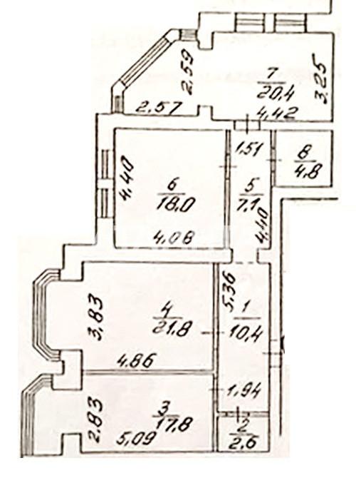Продается 3-комнатная Квартира на ул. Ул. Вильямса — 118 000 у.е. (фото №17)