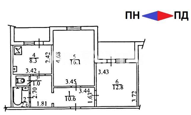 Продается 2-комнатная Квартира на ул. Лариса Руденко — 49 800 у.е. (фото №6)
