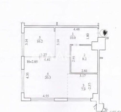 Продается 2-комнатная Квартира на ул. Ул. Луценко Дмитрия — 70 000 у.е. (фото №14)